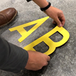 Mighty Line Peel and Stick Floor Marking Location Markers