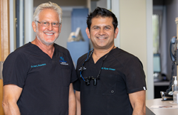 Drs. Joel Rosenlicht and Ryaz Ansari, Oral Surgeons at Jawfixers in Manchester, CT