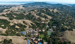 San Anselmo, California, home of the Nike Basketball Camp at the San Domenico School