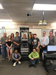 VeraCore and Newington High School's IT Academy students