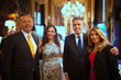 Grand Sponsor and Savoy Foundation Board Member Daniel J. McClory (2nd from right) with Mrs. Florentina McClory and guests Mr. and Mrs. Mario Kranjac (far left)