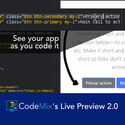 CodeMix Live Preview