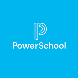 Logo of PowerSchool, a leading provider of K-12 education technology solutions