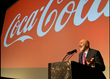 Dave Nassaney speaking at Coca Cola