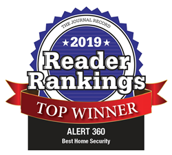 """Alert 360 Home Security was chosen as the top winner for """"Best Home Security Provider"""""""