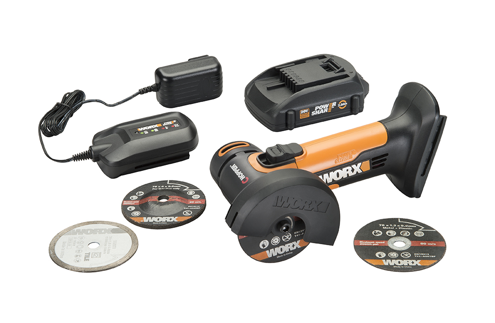 New Worx 20v 3 Inch Mini Cutter Is Compact Multi