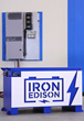 Image of Iron Edison off-grid lithium-ion energy storage system