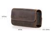 Dynamic Duo Glasses Case — dimensions