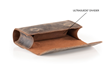 Dynamic Duo Glasses Case — flexible Ultrasuede(R) divider