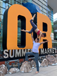DuPont Biomaterials at the Outdoor Retailer Summer Market 2019, highlighting DuPont™ Sorona® fiber stretch applications.