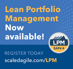 New Lean Portfolio Management course helps senior leaders enable faster innovation
