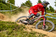 Monster Energy's Amaury Pierron Wins the UCI Mountain Bike  World Cup Downhill in Les Gets, France