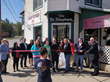 St. Stephen's Cafe ribbon cutting