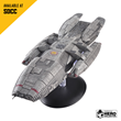 The Battlestar Galactica – from the Battlestar Galactica: The Official Ships Collection