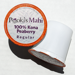 Pooki's Mahi® Kona Kafpresso™ made from 100 Kona Coffee in 100% recyclable capsules available as a coffee subscription, wholesale coffee club or through VIP distributor reseller. Hawaii Kona coffee Nespresso, Nespresso coffee pods, Matcha Matcha Man tea, Komo Kitty with CA Prop 65.
