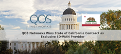 QOS Networks Wins State of California Contract as Exclusive SD-WAN Provider