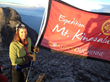 Catherine Jayasuriya on Mt Kinabalu