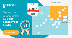 Groove.co Secures Top Spot in G2 Crowd's Leader Quadrant for Sales Engagement