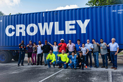 Crowley is positioned as a worldwide partner offering, flexible, scalable and agile logistics solutions.