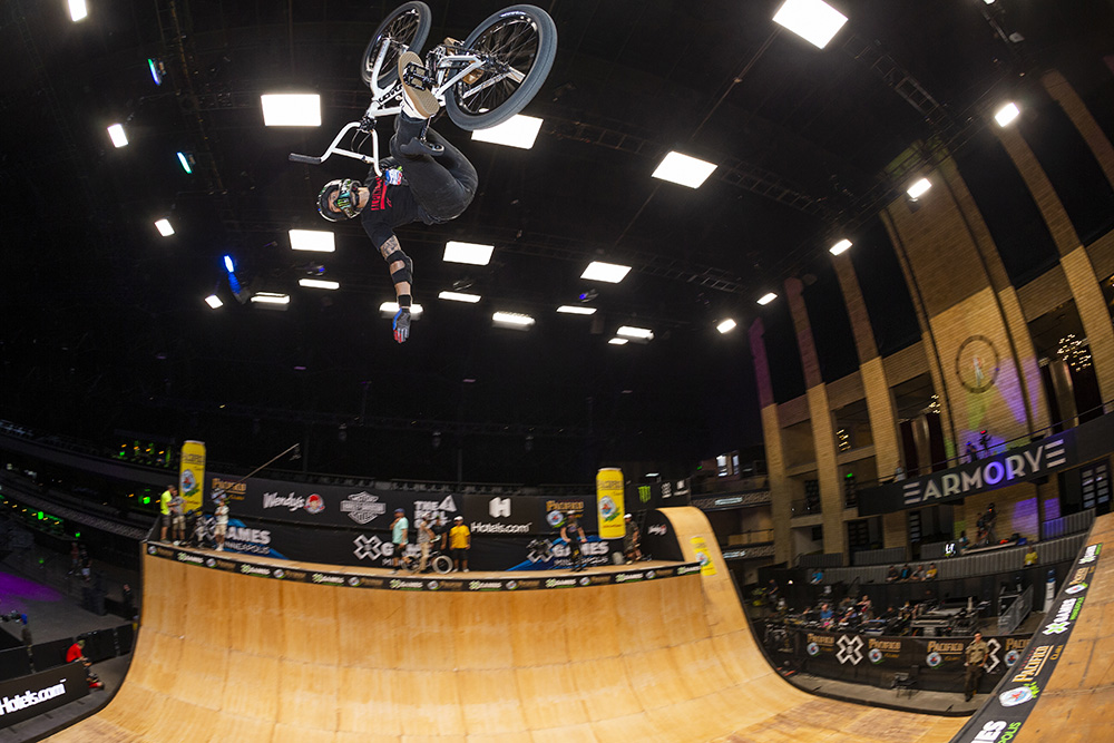 Monster Energy's Jamie Bestwick Claims Silver in BMX Vert at X Games