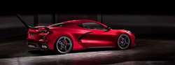 Red 2020 Chevrolet Corvette