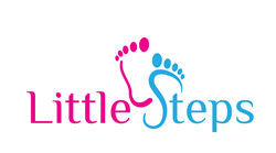 Little Steps Pediatric Therapy logo.