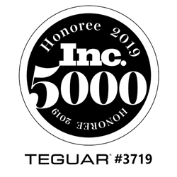 Teguar Placed #3719 on 2019 Inc. 5000 List.