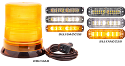 LED warning and beacon lamps, Class 1 LED warning and beacon lamps, Class 1 warning and beacon lamps