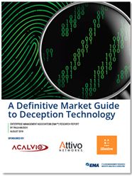 A Definitive Market Guide to Deception Technology Research Report