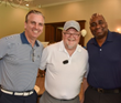 Pictured (left to right): Dan Donovan, Vice President/National Sales Manager for WABC-TV and Calvary Fund board member; Timothy Barr, Executive Vice President of Calvary Fund; and Reginald Goins.