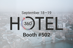 INTELITY to attend Hotel360 Expo in London
