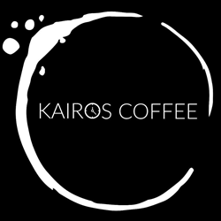 Logo for Kairos Coffee in Wilmington Ohio