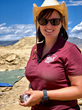 Dr. Victoria Egerton is looking for rare fossilized plants within The Jurassic Mile.