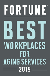 Brightview Senior Living tops Great Place to Work® and FORTUNE Best Workplaces for Aging Services 2019