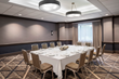 The Hilton Chicago/Oak Brook Hills Resort's Heron Meeting Room is one of many spaces perfect to hold a business event.