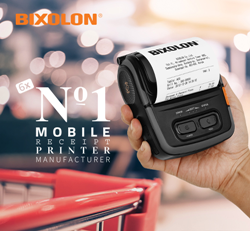 BIXOLON Ranked Global Leader Within the Mobile Receipt Printer Market For The Sixth Consecutive Year