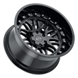 Black Rhino Truck Wheels - Fury in Gloss Black