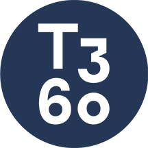 T3 Sixty dark blue logo