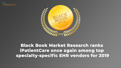 Black Book Market Research ranks iPatientCare top specialty-specific EHR vendors for 2019
