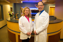 Drs. Marianne Urbanski and Gregory Toback, Periodontists of Shoreline Periodontics & Dental Implants, Serving New London, CT and Westerly, RI