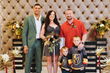 NHL Right Winger Ryan Reaves Scores as Officiant at Wedding for VGK Hockey Fans at Chapel of the Flowers