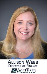 Allison Webb, Director of Finance, AcctTwo