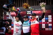 Monster Energy's Danny Hart, Amaury Pierron and Charlie Harrison Sweep Podium at the Final UCI Mountain Bike World Cup in Snowshoe, West Virginia
