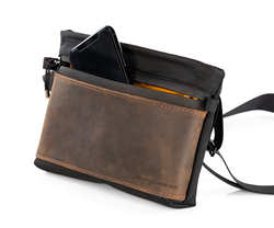 Marqui Crossbody Pouch — secure iPhone pocket with easy access