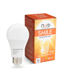 The NorbSMILE LED light bulb