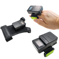 KDC180 Wearable Barcode Scanner and RFID Reader in Ring Scanner and Finger Trigger Glove Formats