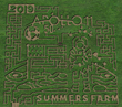 Inspired by NASA's 50th Anniversary of Apollo 11 Landing, Summers Farm presents its themed maze for 2019!