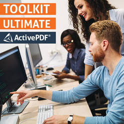 Software Developers manipulating PDF files by ActivePDF