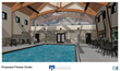 A rendering of the swimming pool, part of the planned Health & Wellness Center at the Travis Mills Retreat