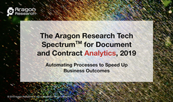 Aragon Research Tech Spectrum for Document and Contract Analytics